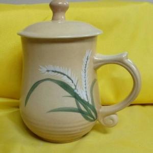 BQ07 彩繪杯 陶瓷杯彩繪杯子