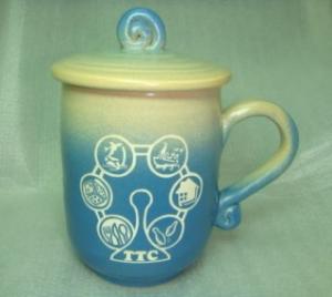 客製化姓名杯 U1003 手拉胚雕刻杯雕刻摩天倫圖