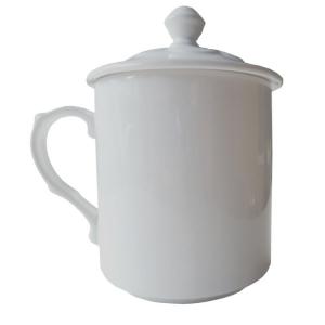 熱轉印馬克杯121 - 蓋杯 熱轉印雪白瓷蓋杯