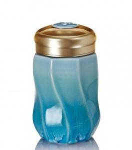 15-D1790-1  八方 隨身杯 ( 小 / 單層 / 雪晶海碧 / 340 ml )