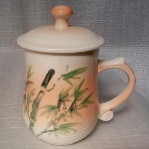 BQ11 彩繪杯 陶瓷杯彩繪杯子