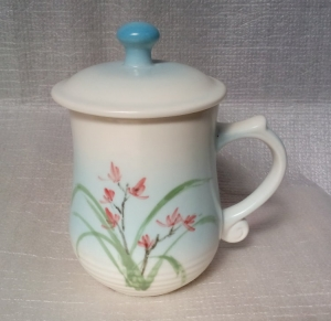 BQ14 彩繪杯 陶瓷杯彩繪杯子