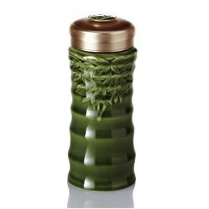 快樂杯-乾唐軒隨身杯 15-D1990 綠釉/單層/480ml