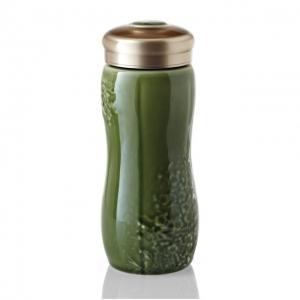 乾唐軒隨身杯 15-D1991 梅花隨身杯綠釉/單層480ml