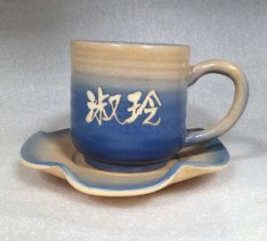 鶯歌手拉坏咖啡杯盤-咖啡杯-HAC202
