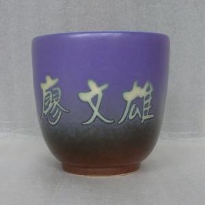 姓名杯  泡茶杯 小茶杯  HW1001 全滿約120cc