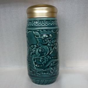 15-D2000 騰龍隨身杯( 560ml  大 / 單層 / 礦藍 )