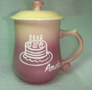 茶杯刻名字-茶杯寫名字,陶瓷茶杯訂做,陶瓷杯B201