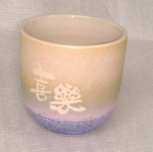 F002 日式小陶杯 小水杯 全滿220cc