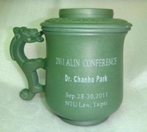 刻名字泡茶杯-鶯歌泡茶杯子,茶杯-DK702 龍杯綠色,電腦雕刻名字泡茶杯