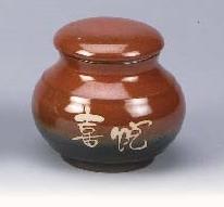 FH15 陶藝茶葉罐 4兩陶罐