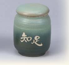 FK06 陶藝茶葉罐 4兩陶罐