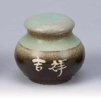 FH07 陶藝茶葉罐 4兩陶罐