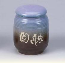 FK12 陶藝茶葉罐 4兩陶罐