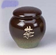 FL14 陶藝茶葉罐 2兩陶罐