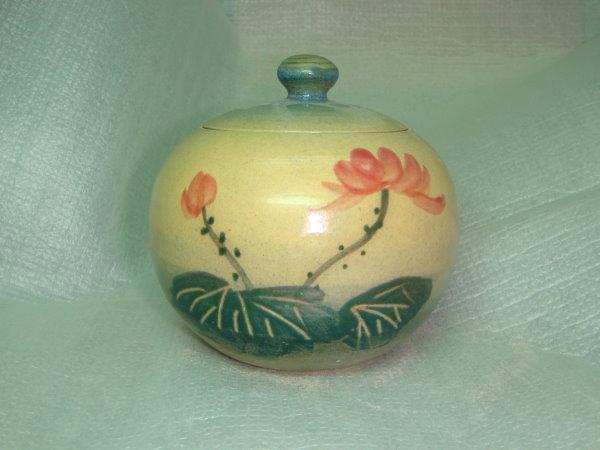H501 手拉坯茶葉罐