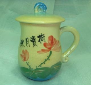 H202 鶯歌彩繪陶瓷杯