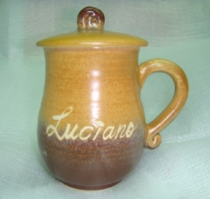 HA2021 手拉坏鶯歌陶瓷杯 棕咖色