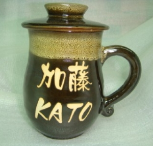 HA2026 手拉杯鶯歌陶瓷杯 窯變鹿皮色