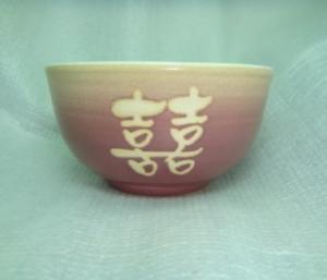 陶瓷飯碗-HL007 紫色 手拉胚飯碗
