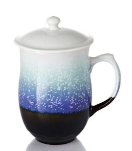 13-D1353 乾唐軒 負離子 雪晶圓夢杯 ( 紫色 ) 450ml