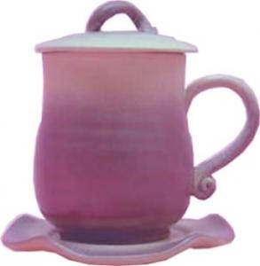 HS301 (紫色二件杯 + 小盤)