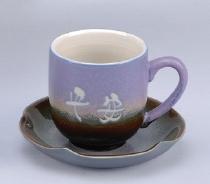 咖啡杯 FC12 鶯歌陶瓷咖啡杯 杯盤組