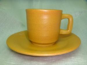 咖啡杯盤-手拉坏咖啡杯-HAC201 棕色