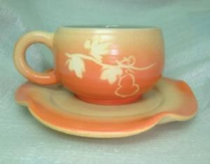 咖啡杯-鶯歌手拉坏,手拉咖啡杯-HBC205