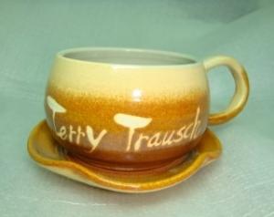 咖啡杯-鶯歌手拉坏,手拉咖啡杯-HBC210