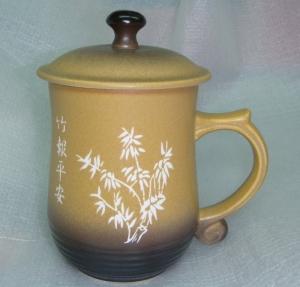 BK207 美人杯 刻字陶瓷杯