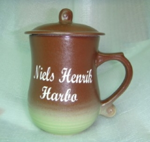 BK228  手工雷射雕刻杯 喝茶杯子