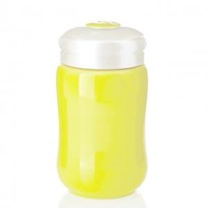 快樂杯-快樂隨身杯 15-D1491-1 帝黃色/小/單層320ml