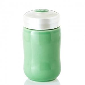 15-D1491-4  快樂杯 快樂 隨身杯 ( 果綠色 / 小 /單層 / 320ml )
