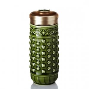 15-D2296 乾坤隨身杯( 大 /雙層 / 綠 ) 250ml