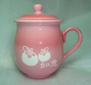 母親節禮物 M005 福氣圓滿雕刻杯 如意杯