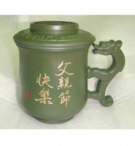 父親節禮物 M304  三件式 泡茶杯 龍杯