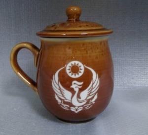 鶯歌陶瓷杯-鶯歌陶杯,陶瓷杯子,陶瓷雕刻杯-G2001