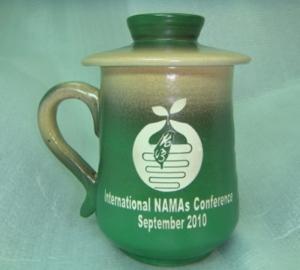 鶯歌手拉杯 G2002 姓名陶瓷杯子,鶯歌手拉陶杯