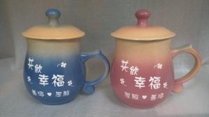 結婚禮物-J6315 結婚禮品 雕刻杯 鶯歌陶瓷杯 +雕刻
