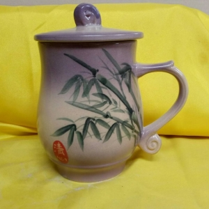 AQ03 彩繪杯 陶瓷杯彩繪杯子